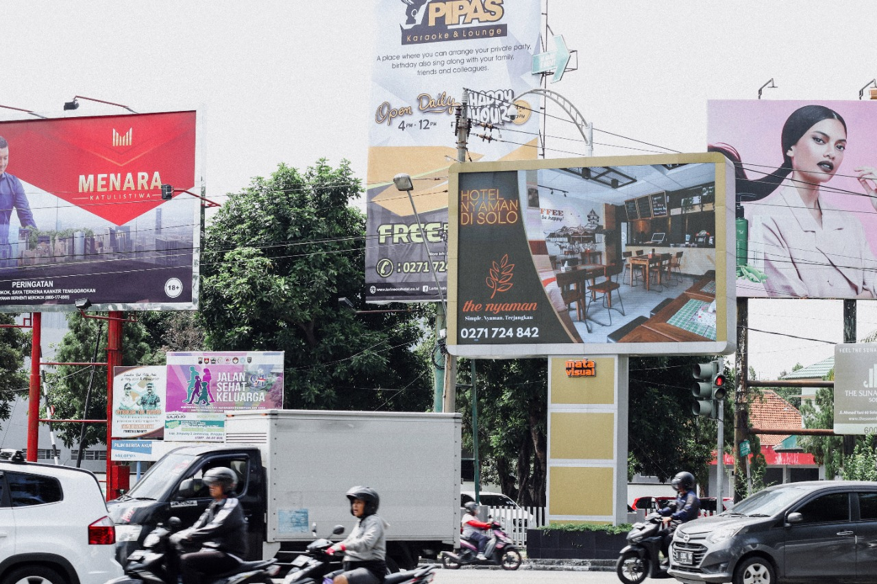 Jasa Sewa Videotron Solo Mata Visual Advertising